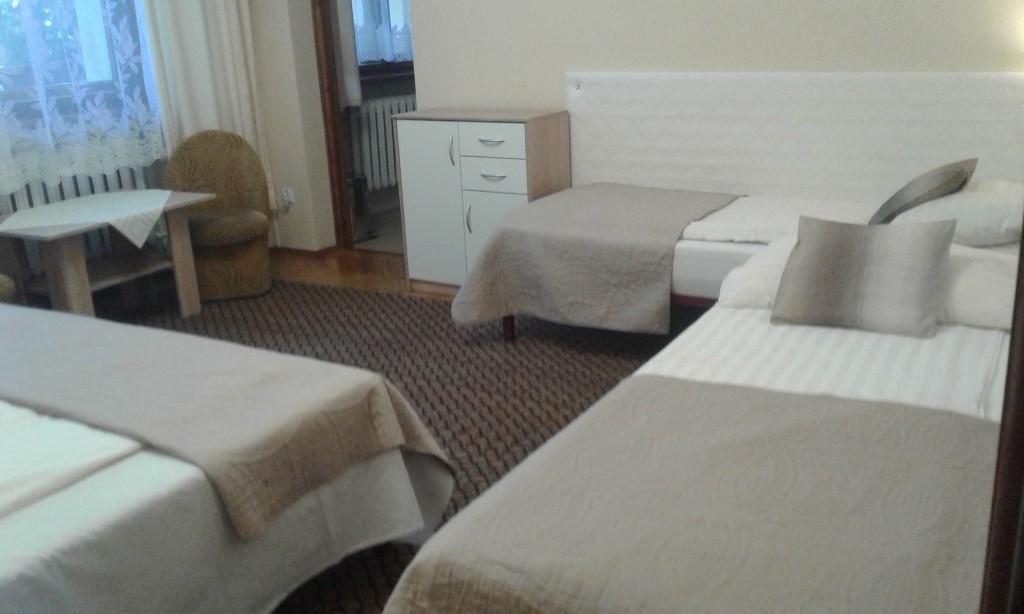 Pokój nr.2 4-os z tarasem