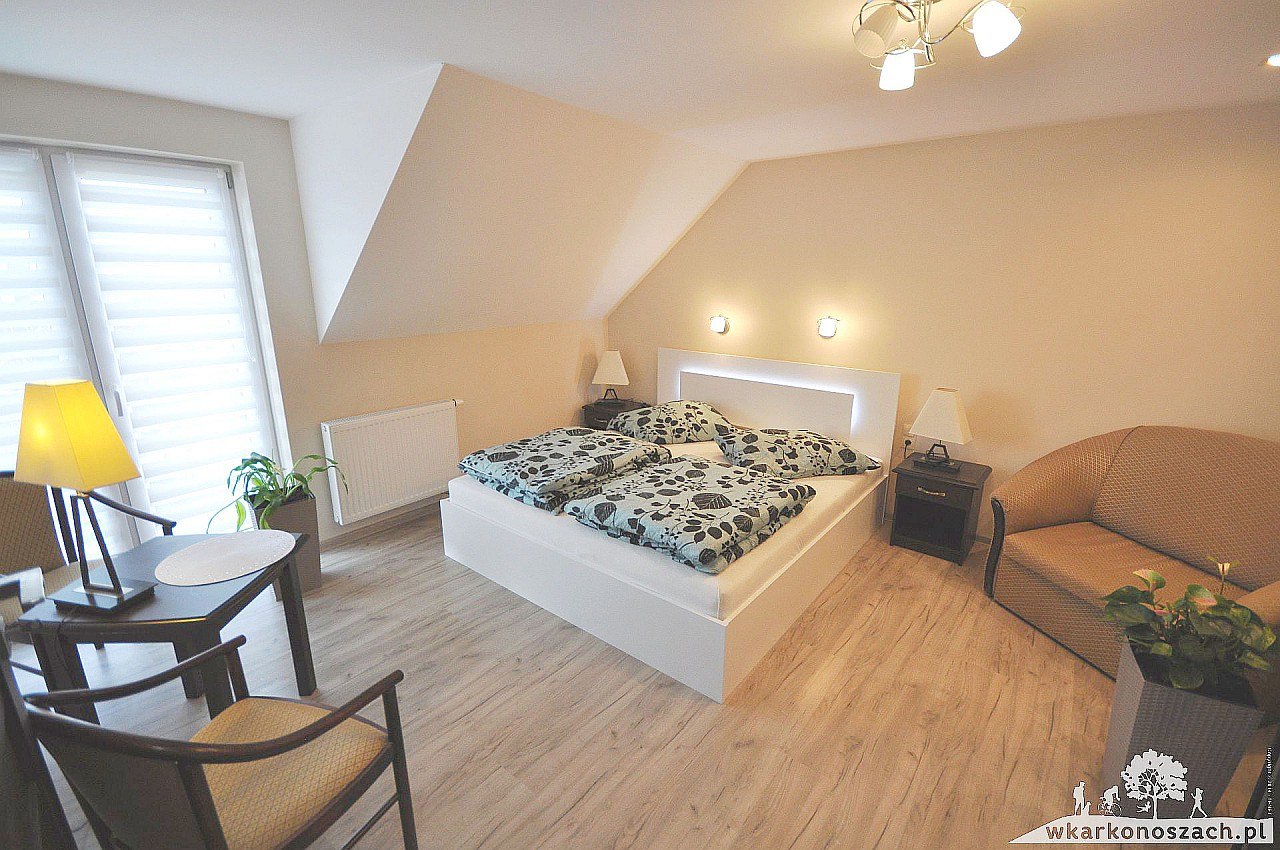 sypialnia - Apartament Waldi Cieplice Jelenai Góra