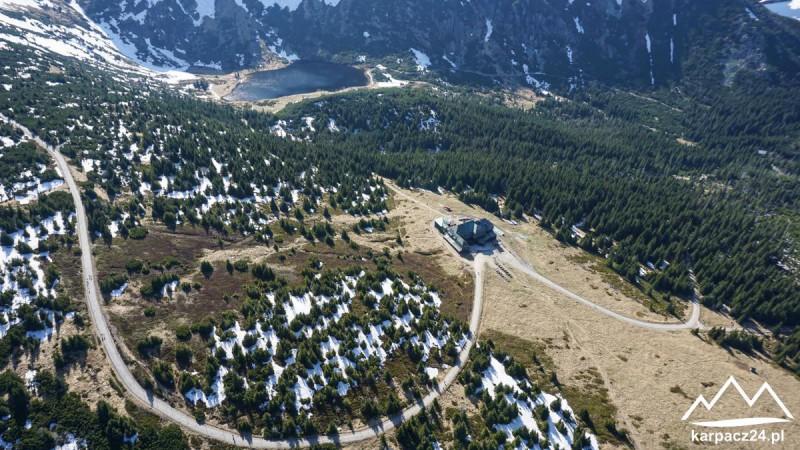 Widok z lotu ptaka Dom Śląski