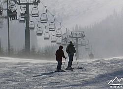 trasa wyciągu narciarskiego na Kopę | fot. Tenet