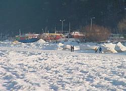 Międzyzdroje, port rybacki zimą. | fot. Huuba