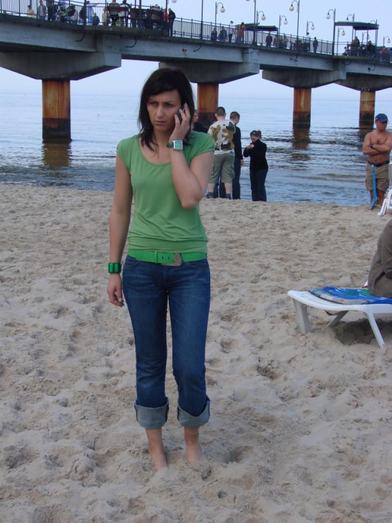 Bałtyku szary piach,zamieniał się w gorący podzwrotnikowy raj..........