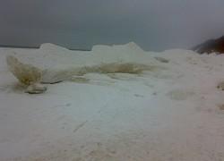 Międzyzdroje, lodowe skały  | fot. Huuba