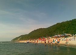 Plaża pod Kawczą Gorą | fot. Huuba