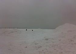 Międzyzdroje, biała góra wzdłuż całego brzegu Bałtyku | fot. Huuba