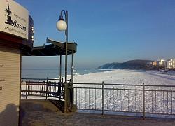 Biała plaża, Międzyzdroje | fot. Huuba