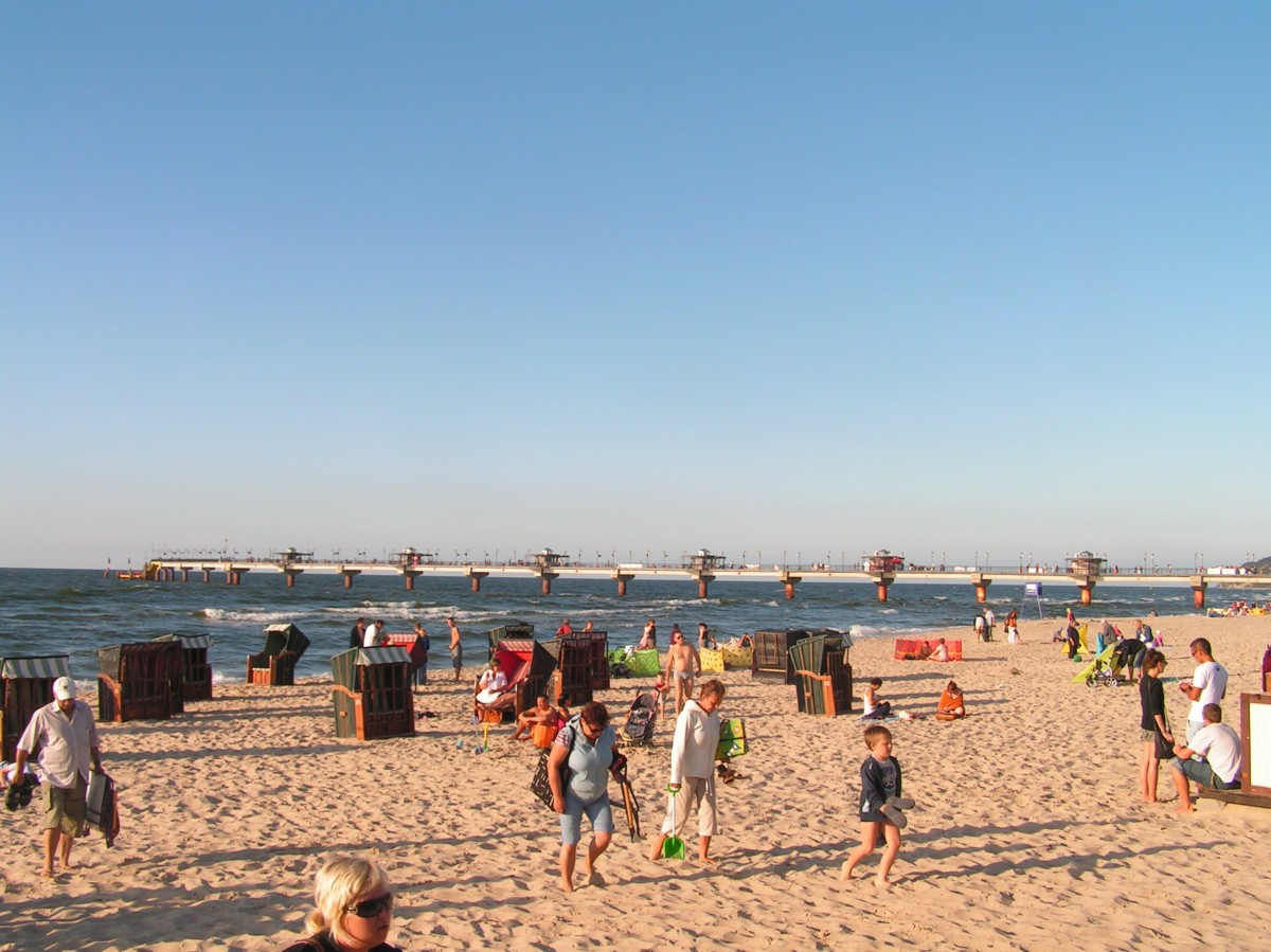 Międzyzdroje, plaża