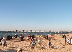 Międzyzdroje, plaża  | fot. Huuba