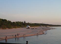 Międzyzdroje, plaża zachodnia | fot. Huuba