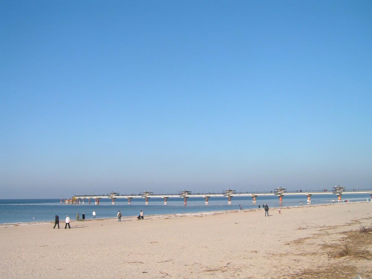 Międzyzdroje, jesienna plaża