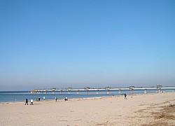 Międzyzdroje, jesienna plaża | fot. Huuba
