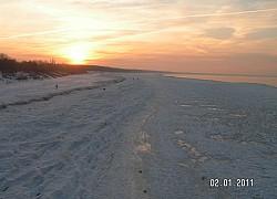 Słońce Bałtyku maluje obrazy | fot. Huuba