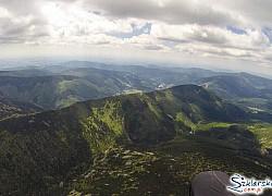 Pasma górskie z wysoka | fot. Zbigniew Deka