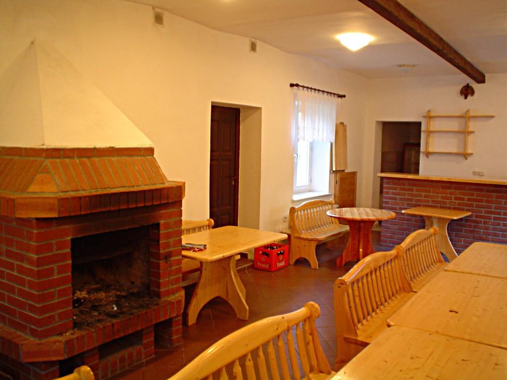 Sala kominkowa