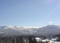 widok z gór izerskich na karkonosze | fot. Tenet