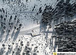 trasa biegowa widok z lotu ptaka | fot. Zbigniew Deka