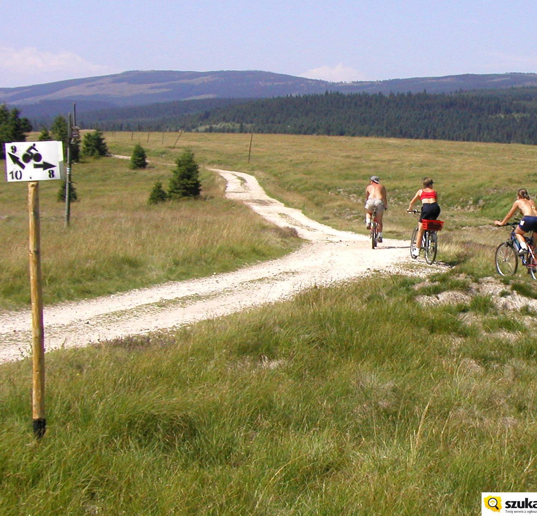 trasy rowerowe pogórze izersie