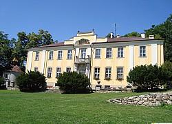 pałac lenno w górach  kaczawskich
