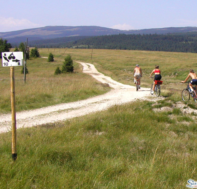 Góry Izerskie trasy rowerowe lato