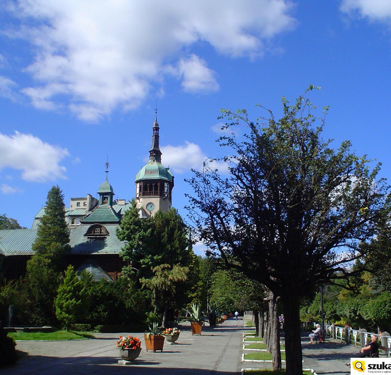 Świeradów Zdrój  Park Zdrojowy lato