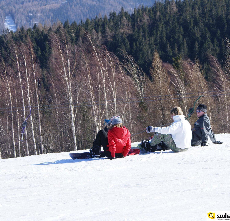 snowboard w Karpaczu