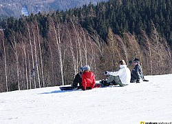 snowboard w Karpaczu | fot. tenet