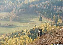 Widok z  Krzyżnej Góry | fot. Tenet