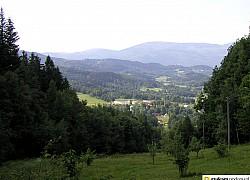 Widok sprzed Schroniska Szwajcarka | fot. Tenet