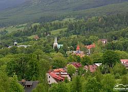 Panorama na Świeradów Zdrój | fot. Tenet
