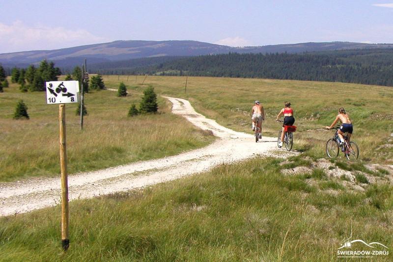Szlaki rowerowe w Górach Izerskich