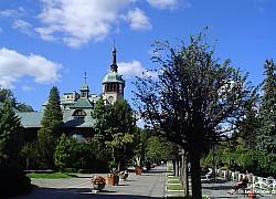 Dom Zdrojowy lato - Swieradów Zdrój | fot. Tenet