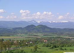Widok na Sokoliki Góry Kaczawskie  | fot. Tenet