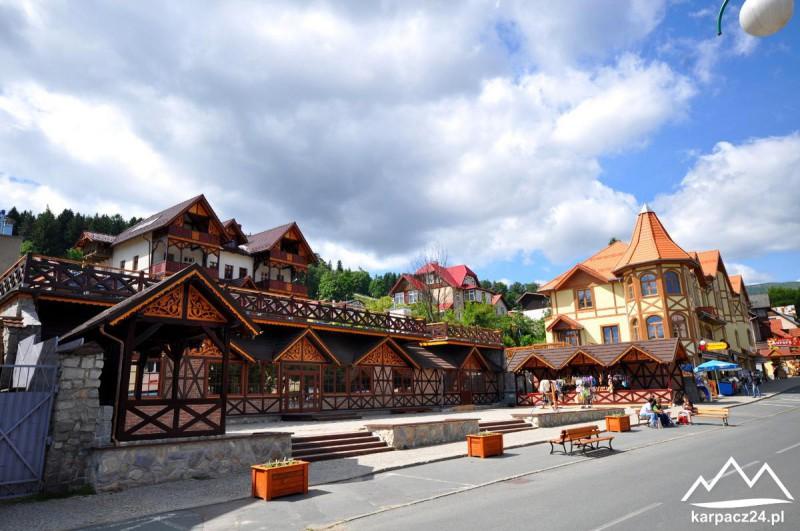 Deptak, centrum Karpacza